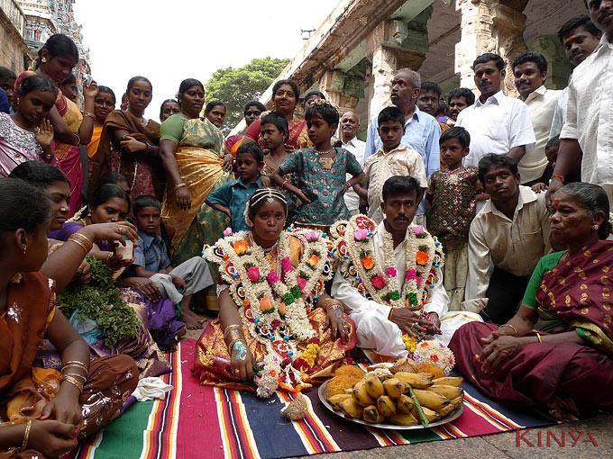 Bruiloft in Madurai