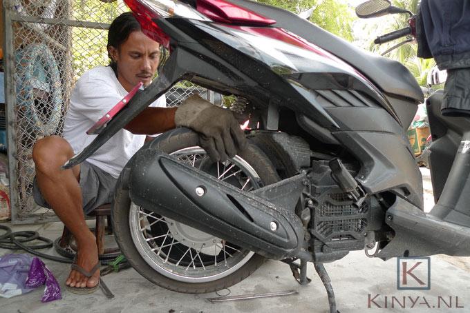 Lekke banden zijn zo gebruikelijk als benzine tanken