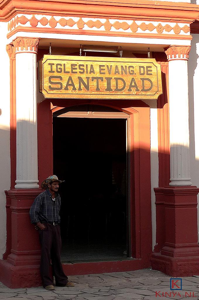 Cowboy in Honduras