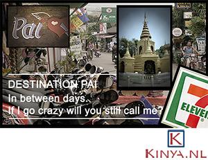 Impressie van Pai in Thailand