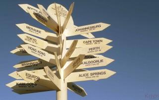 Plaatswijzer in Mount Isa Australië