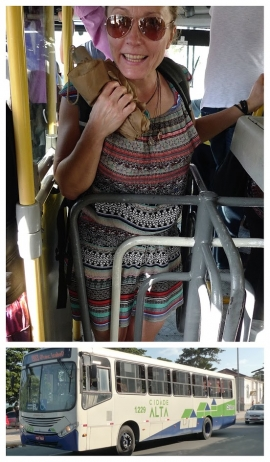 Stadsbus Brazilië
