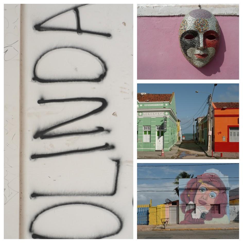 Beelden uit Olinda, Brazilië