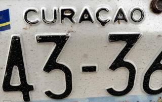 Kentekenplaat Curacao