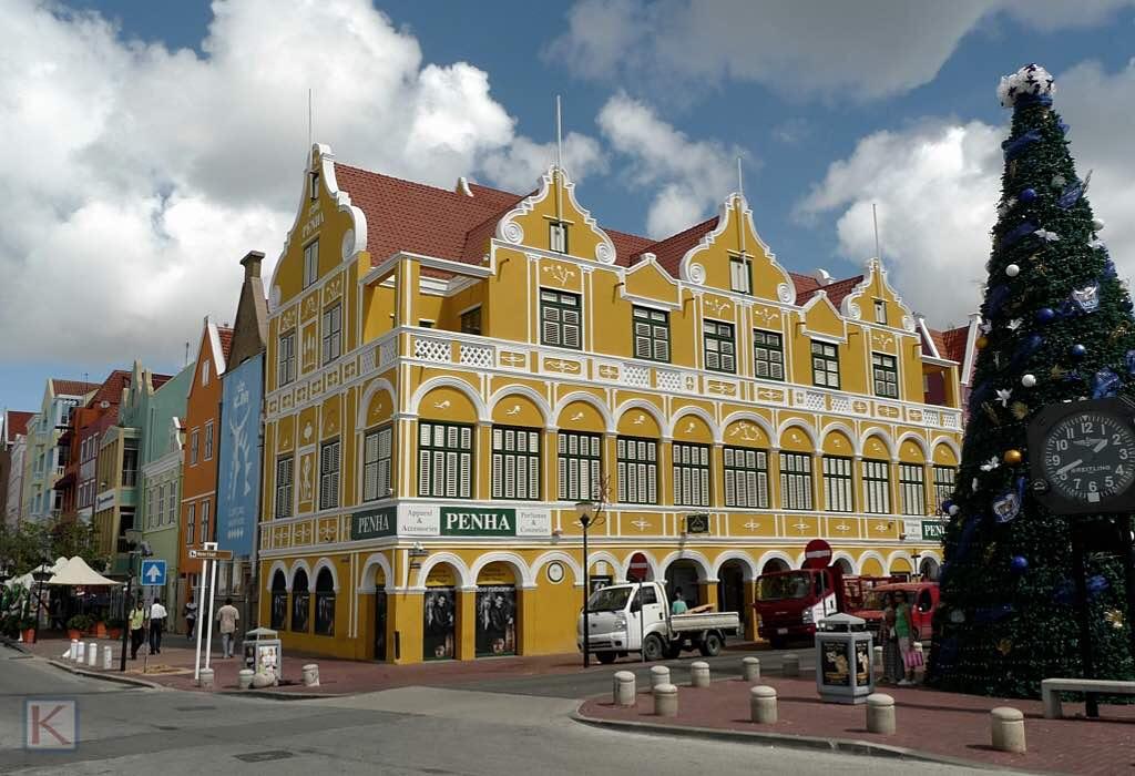 Straatbeeld Willemstad