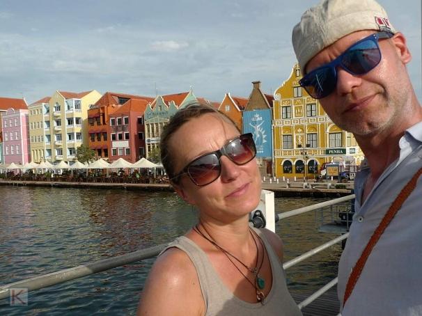 Richard & Silvie in Willemstad