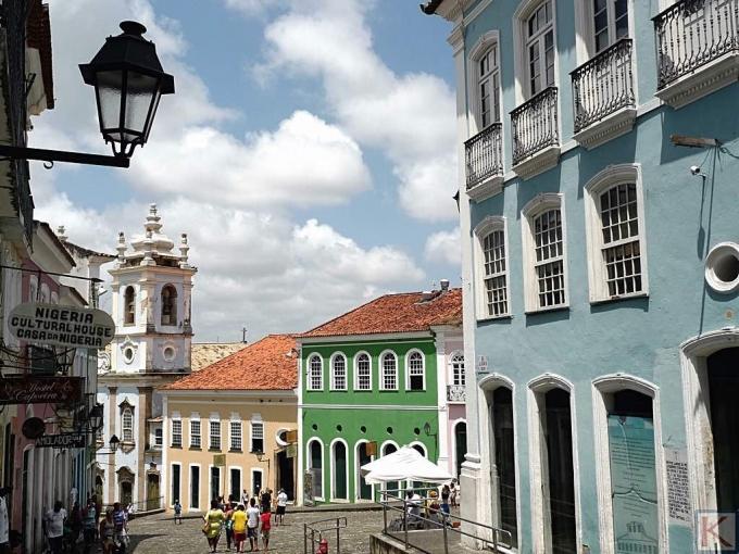 Plein in Salvador