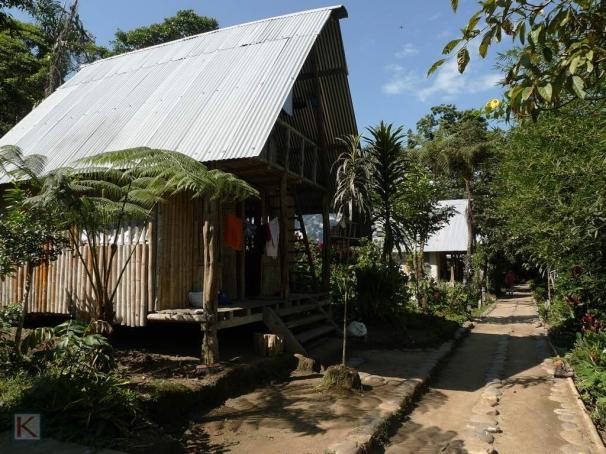 Onze bungalows, rustiek maar spartaans